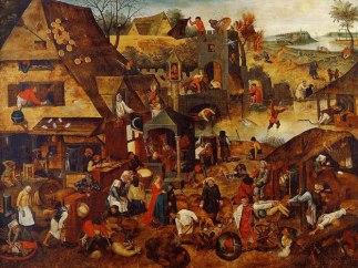 Bruegel-village-scene